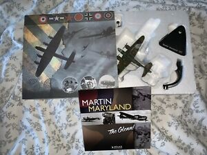 WWII Aircraft Atlas Editions Martin Maryland 1:144 Scale Die Cast Model