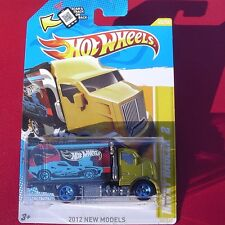 """Hot Wheels"" Hiway Hauler 2. 2012 New Models. 45/247. New in Blister Pack!"
