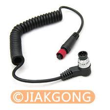 RF-602 YN-126 Remote Cable NIKON D200 D2 FUJI S3 S5 Pro