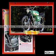 #107.02 Fiche Moto Cyclo MALAGUTI OLYMPIQUE V4 1963-79 Motorcycle Card