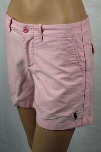 Ralph Lauren Sport Pink Navy Blue Pony Shorts NWT 8