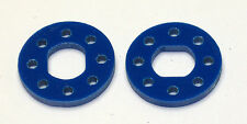"XTREME RACING JQ ""THE CAR"" XTREME BLUE BRAKE DISK (2) 3mm XTR11515B BUGGY"
