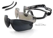 Bollé Safety Kit Cobra lunettes masque + écrans de rechange Incolore, ESP, Fumé