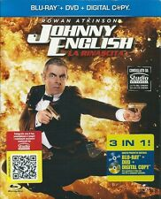 JOHNNY ENGLISH - LA RINASCITA - BLU-RAY+DVD (NUOVO SIGILLATO)SLIPCASE