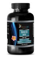WATER PILLS - Natural Diuretic Herbal Fat Burner Hypertension - 1 B, 60 Capsules