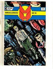 Miracleman # 10 NM Eclipse Comic Book Alan Moore Rick Veitch 1st Print J339