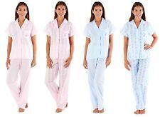 Ladies Elsa Revere Collar Short Sleeve Summer Pyjama Set Sizes 10-24 LN727 LN731