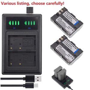 EN-EL3E Battery or Charger for Nikon D50 D70 D80 D90 D100 D200 D300S D700 DSLR