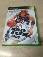 NBA Live 2003 Microsoft XBOX EA Sports