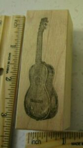 GUITAR MW RUBBER STAMP