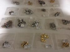 Craft /Sewing Metal Studs -250 Assorted Gold/Silver/Coloured Studs