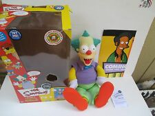 The Simpsons Talking Krusty The Clown Doll Evil/Good Switch Tree House of Horror