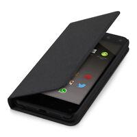 kwmobile Flip Cover Case für Amazon Fire Phone Schwarz Schutz Hülle Etui Handy