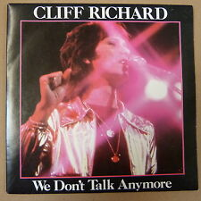 "45rpm / 7"" CLIFF RICHARD we dont talk enymore / count me out 1978 emi 2975"