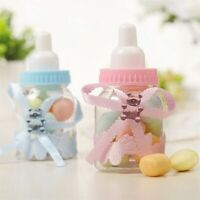 12pc Baby Shower Baptism Christening Birthday Gift Party Favors Candy Box Bottle