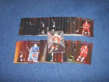 1996-97 LEAF LIMITED HOCKEY LOT OF 54 CARDS (18-67)