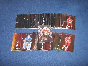 1996-97 LEAF LIMITED HOCKEY LOT OF 54 CARDS (18-67)