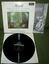 MOZART Complete Dances & Marches Vol 9  ORIG 1st UK 1966 DECCA SXL 6248 MINT-