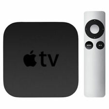 APPLE TV 3rd GEN 1080p DIGITAL MEDIA STREAMER + NEW REMOTE + NEW UK POWER LEAD