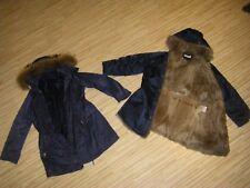 Winter Herbst Parker mit EchtFell Weste Kaninchen 2 in 1 Jacke & Weste *Gr. 40 M