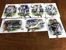 Los Angeles Galaxy 2017 SIGNED TOPPS MLS TEAM SET all cards from Current Roster