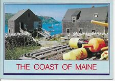 Lobster Pots and Buoys on the Maine Coast