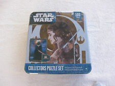 Star Wars Collectors Puzzle 500 Piece Foil & 300 Piece Poster New & Sealed!