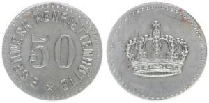 50 Pfennig ohne Jahr Przemkov, Polen, Henriettenhütte vz 56152