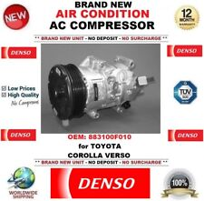 DENSO AIR CONDITIONING AC COMPRESSOR OEM: 883100F010 for TOYOTA COROLLA VERSO