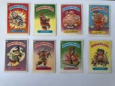 8x 1986 Rare Garbage Pail Kids Dutch Test Cards