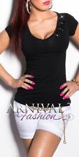 NEW SEXY LADIES FASHIONS TOP XS S M L WOMEN'S CASUAL SHIRTS shop online CLUBWEAR
