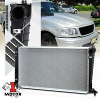 E350 E450 04-18 5.4L AT 2977 OE Style Aluminum Core Cooling Radiator Replacement for Ford E150 E250 Econoline 04-14