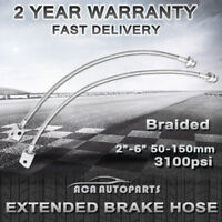 "2""-6"" Lift Braided Extended Brake Lines for Nissan Patrol GQ Y60 GU Y61 for Ford"