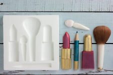 Silicone Mould Make Up, Lipstick, Nail Varnish Food safe Ellam Sugarcraft  M083