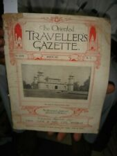 INDIA RARE - THE ORIENTAL TRAVELLERS GAZETTE MARCH 1927 - ILLUSTRATED - PAGES 48