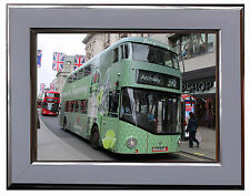 """NEW ROUTEMASTER """"TANQUERAY"""" BUS  7"""" X 5"""" FRAMED PHOTOGRAPH (WSF02P)"""