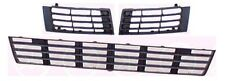 AUDI A4 B5 1999 - 2001 Front Bumper Grill SET ( Center + Left + Right ) EU model