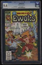 Ewoks #14 CGC 9.4 OW/W Pgs Star Wars Marvel 1987 Wicket Teebo