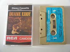 DUANE EDDY TWANGY GUITAR SILKY STRINGS CASSETTE TAPE 1962 BLUE PAPER LABEL RCA