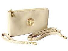 SMALL CLUTCH BAG PURSE WITH WRISTLET LONG ADJUSTABLE STRAP WOMENS HANDBAGS LIGHT