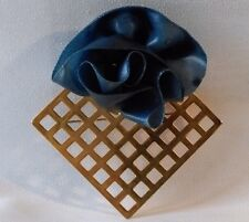 ORIGINALE BROCHE SCULPTURE MODERNISTE - VINTAGE