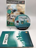 Singstar Pop Hits   Playstation PS2   Complete   PAL