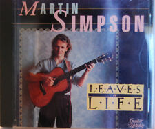 Leaves of Life by Martin Simpson (CD, Jan-1991, Shanachie Records) Excellent!