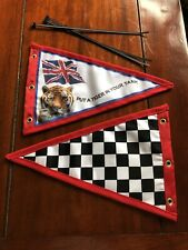Put tiger In Your Tank scooter flag Pennant