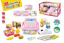 26 Stück Kinder Supermarkt Shop PINK Ladenkasse Tilly Verzeichnis & Rollenspiel