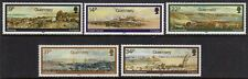 Guernsey 1985 Paintings set fine fresh MNH