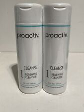 PROACTIV Renewing Cleanser (2) 6oz Bottles-240 Day Supply -Exp 03/2021 SEALED CB