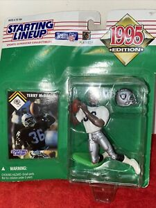 Starting Lineup 1995 Terry McDaniel NFL Oakland Raiders Rookie Piece-Unopened