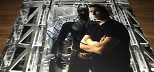 Christian Bale Batman The Dark Knight Bat SuitSigned 11x14 Photo COA Proof 9