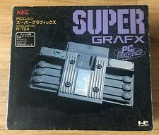 BOXED NEC PC Engine Super Grafx